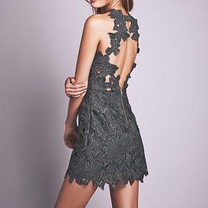 Free People Jessa Lace Mini Dress